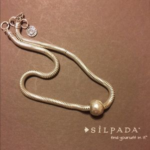 "Silpada Sterling ""Chic Necklace"" N2416"